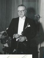 Heinrich Strecker mit Unterschrift