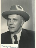 Henryk Taborski mit Unterschrift