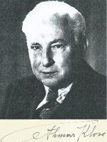 Othmar Klose mit Unterschrift