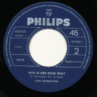 Philips 6023 031 – Label B