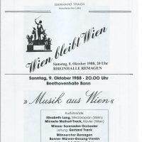 Rheinhalle 08.10.1988 – 1
