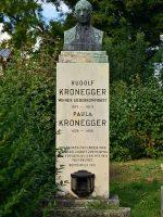 Rudolf Kronegger Grab