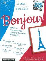 Bonjour – Termine 2019