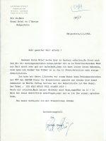 Brief Steup an Arleth 03.01.1964