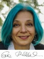 Eva Billisich mit Unterschrift