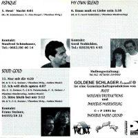 Goldene Schlager Auswahl, Folge 1 – 3