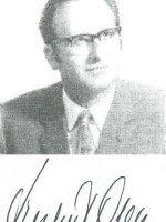 Herbert Ober – Unterschrift