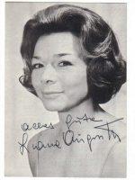 Liane Augustin Autogrammkarte