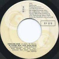 Palme, Rudi – EP 37 B