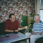 Siegfried Lang mit Erich Zib