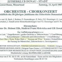 Zitherklub Donaustadt 11.04.1987