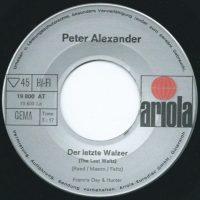 Alexander Peter – Walzer – 3