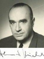 Alexander Steinbrecher mit Unterschrift