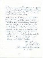 Brief Schönherr an Arleth 25.02.1983 – 2