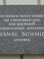 Hansl Schmid Geburtshaus Redtenbacherg. 45