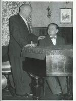 Hansl Schmid mit Josef Fiedler