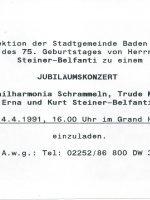 Hotel Sauerhof 14.04.1991 – 2