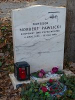Norbert Pawlicki Grabstätte