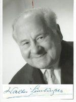 Walter Simlinger mit Unterschrift