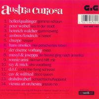 Austria Curiosa CD – 2