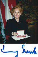 Emmy Denk mit Autogramm