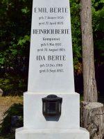 Heinrich Berté Grab
