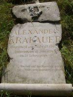 Alexander Krakauer Grabstätte