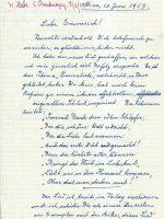 Brief Herbe an Arleth 13.06.1957 – 1