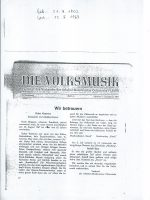 Die Volksmusik Okt-Dez 1967
