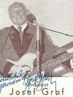 Josef Graf mit Unterschrift