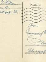 Karte Heller an Arleth 13.01.1960 – 1