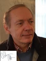 Manfred Altmann mit Unterschrift
