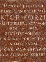 Viktor Korzhé Gedenktafel – 16, Brunneng. 30