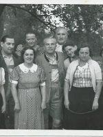 Waldemar Gibisch mit Frau und Sohn