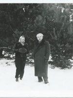 Waldemar Gibisch mit Gattin