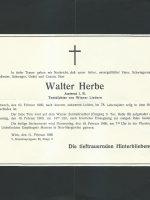 Walter Herbe Parte