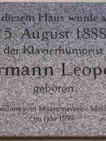 Leopoldi Gedenktafel Schönbrunnerstr 219
