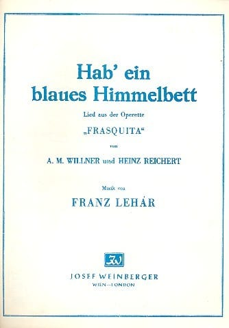 Franz Lehar Musik Austria