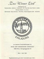 Haus der Begegnung 08.03.1992 – 1
