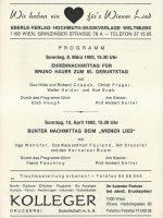 Haus der Begegnung 08.03.1992 – 3