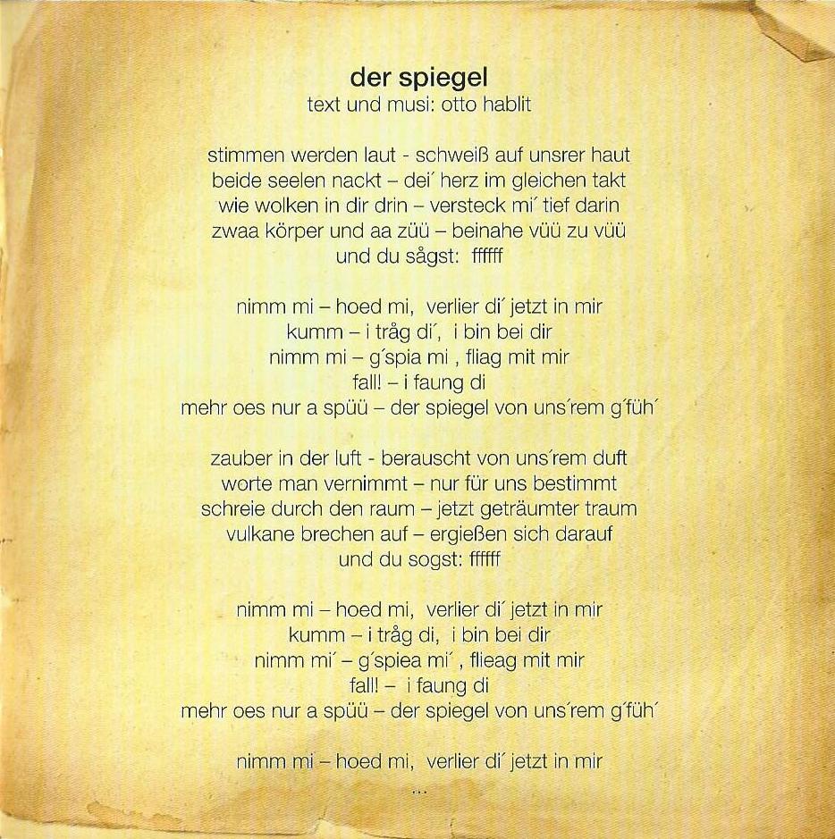 Huachts zua – Booklet – 11