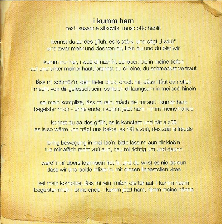 Huachts zua – Booklet – 7