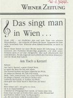 Wiener Zeitung 10.01.1992