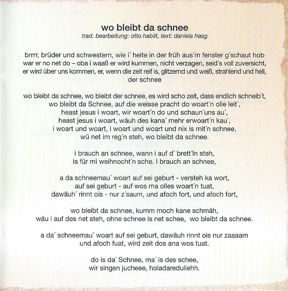 Wienerische Weihnachten – Booklet – 13
