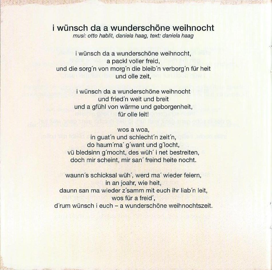 Wienerische Weihnachten – Booklet – 16