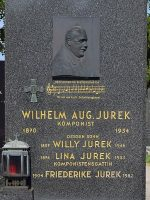 Wilhelm August Jurek Grab