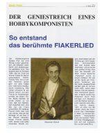 2018 Fiakerlied MusikBranchenInfo