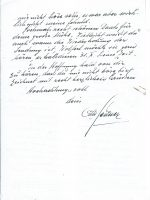 Brief Geitner an Arleth 28.11.1960 – 2