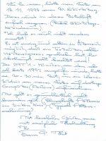 Brief Hub an Arleth 16.10.1994 – 2