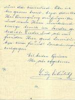 Brief Mikulik an Arleth 15.02.1960 – 3